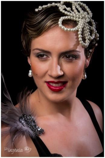 Sesión de estudio con Ana Romero (estilismo: Candy Rodríguez)